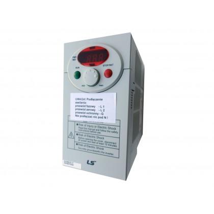 Falownik LG/LS - 0,4 KW 1F, SV004IC5-1F - Prąd 2,5 A